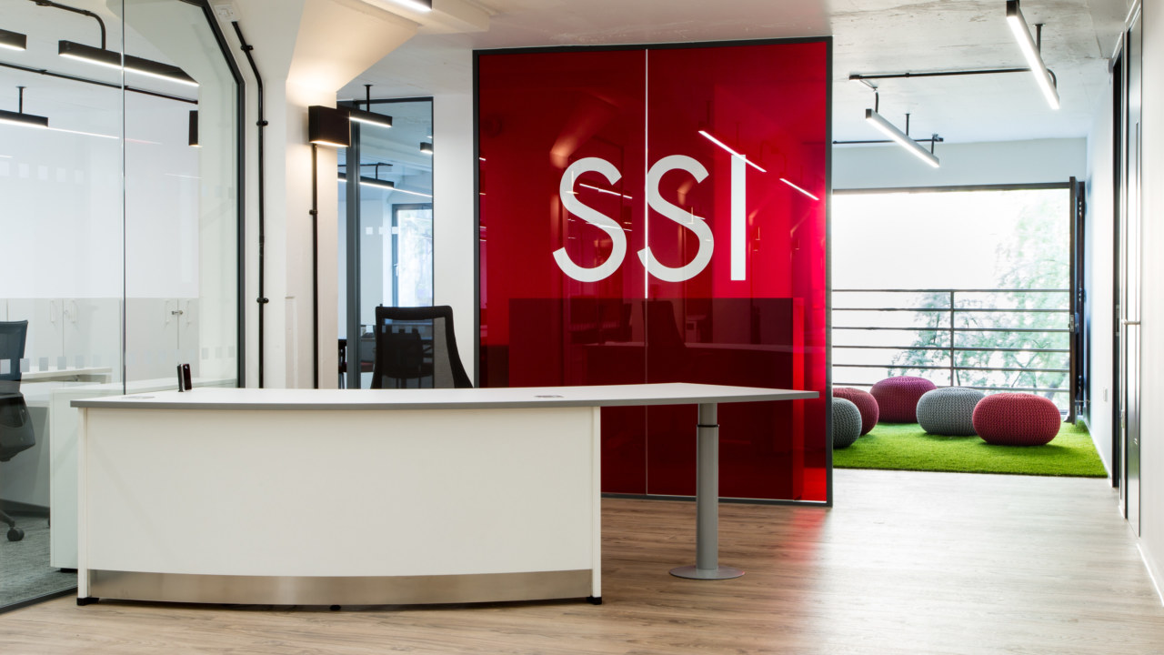 reception office design for SSI
