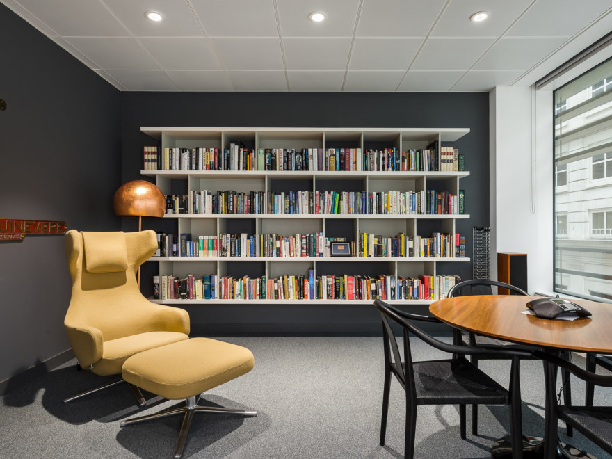 Meeting room design for a London Investment company