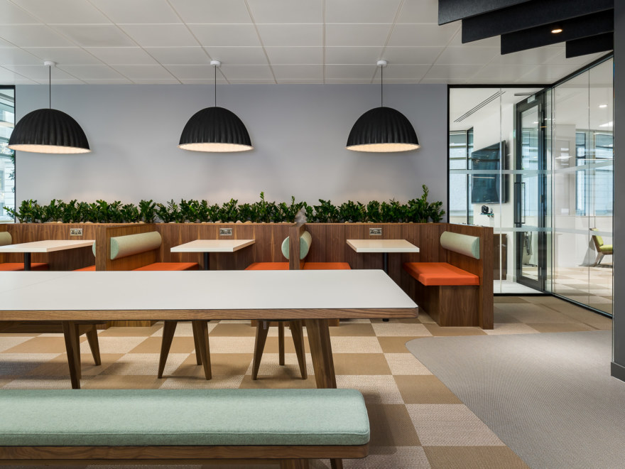 teapoint design for a London Investment company