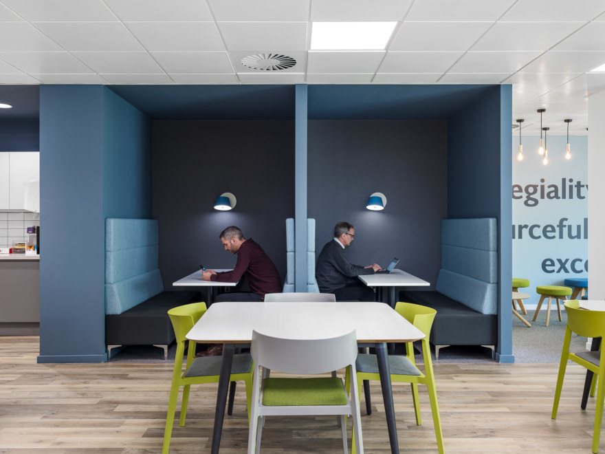Office work booths