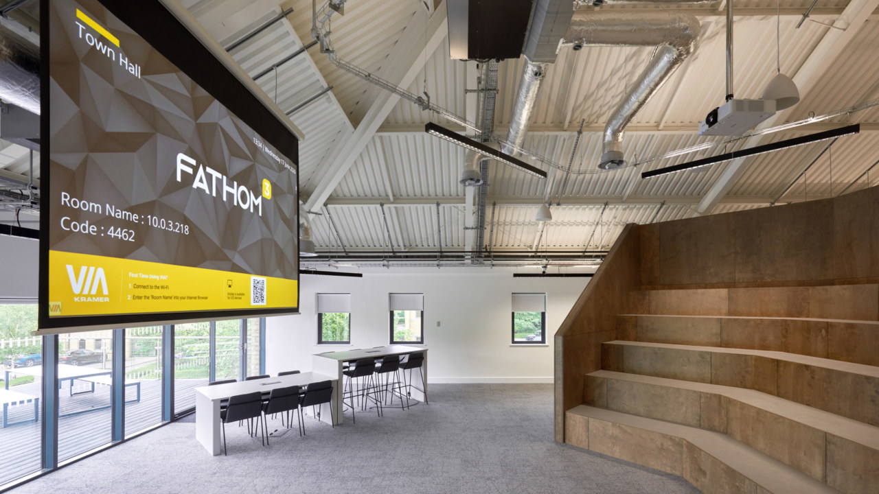 cat b fit out by oktra