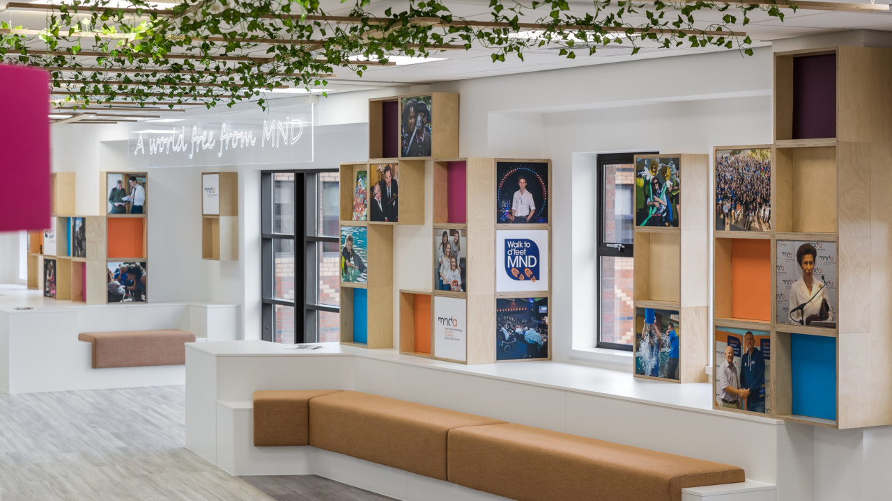 Bright office fit out